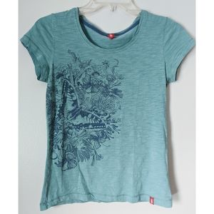 Esprit Butterfly Tee Size S
